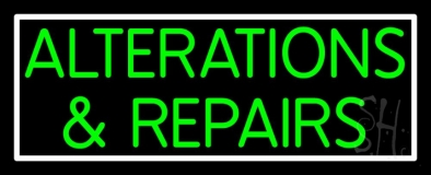 Green Alterations And Repairs LED Neon Sign