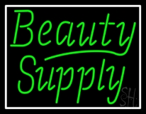 Green Beauty Supply LED Neon Sign