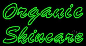 Green Organic Skincare LED Neon Sign