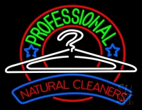 Professional Natural Cleaners LED Neon Sign