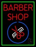 Red Barber Shop LED Neon Sign