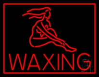 Red Waxing LED Neon Sign