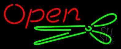 Scissor Open LED Neon Sign