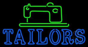 Tailors Logo LED Neon Sign