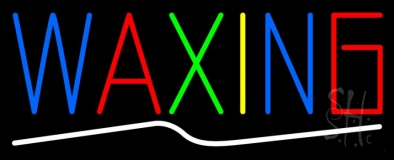 Waxing LED Neon Sign