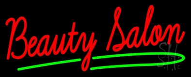 Red Beauty Salon LED Neon Sign