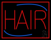 Deco Style Hair LED Neon Sign