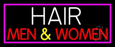 Hair Men and Women LED Neon Sign