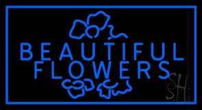 Beautiful Flowers LED Neon Sign