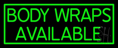 Body Wraps Available LED Neon Sign