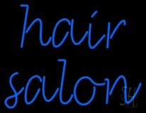 Cursive Hair Salon LED Neon Sign
