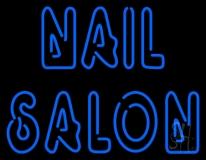 Double Stroke Nail Salon LED Neon Sign