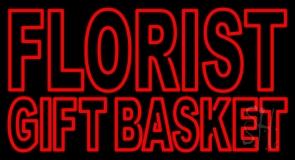 Florist Gift Basket LED Neon Sign