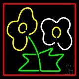 Flower Logo LED Neon Sign