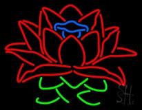 Lotus Flower Logo LED Neon Sign