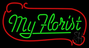 My Florist LED Neon Sign
