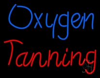 Oxygen Tanning LED Neon Sign