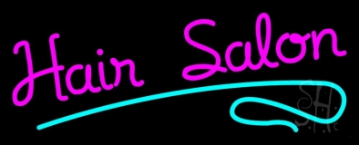 Pink Hair Salon LED Neon Sign