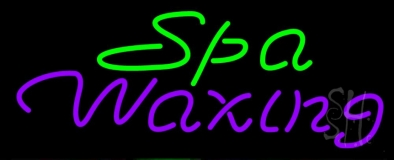 Spa Waxing LED Neon Sign