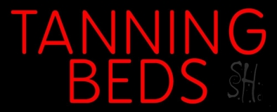 Tanning Beds LED Neon Sign