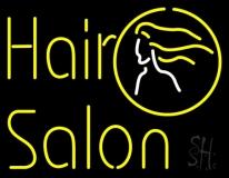 Yellow Hair Salon LED Neon Sign