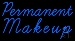 Blue Permanent Makeup LED Neon Sign