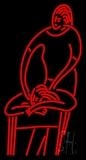 Massage Logo LED Neon Sign