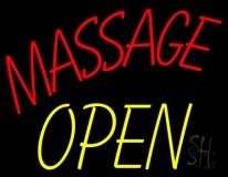 Massage Open LED Neon Sign