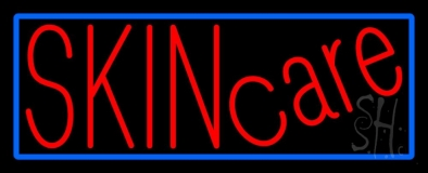 Red Skin Care LED Neon Sign