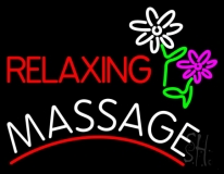 Relaxing Massage LED Neon Sign