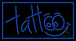 Blue Tattoo LED Neon Sign