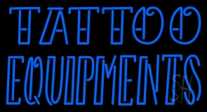 Double Stroke Tattoo Equipments LED Neon Sign