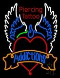 Piercing Tattoo Addiction Logo LED Neon Sign