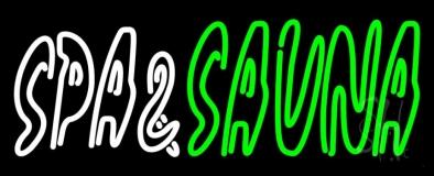 Spa And Sauna LED Neon Sign