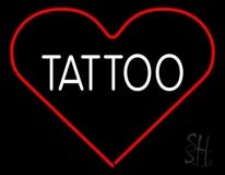 Tattoo Heart LED Neon Sign