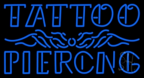 Tattoo Piercing LED Neon Sign