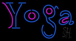 Yoga LED Neon Sign