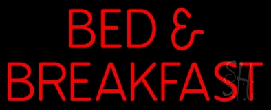 Bed And Breakfast LED Neon Sign