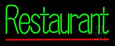 Green Restaurant LED Neon Sign