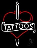 Tattoos Inside Heart LED Neon Sign