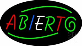 Deco Style Abierto LED Neon Sign
