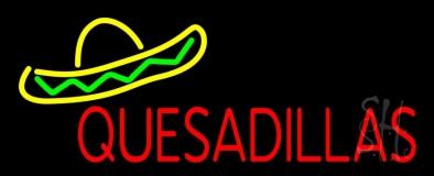 Quesadillas LED Neon Sign