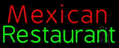 Red Mexican Restaurant LED Neon Sign