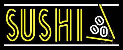 Sushi With Logo LED Neon Sign
