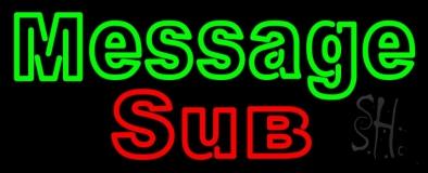 Custom Sub LED Neon Sign