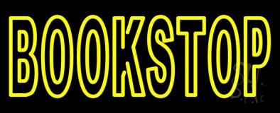 Book Stop LED Neon Sign