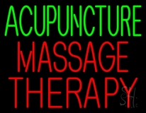 Acupuncture Massage Therapy LED Neon Sign