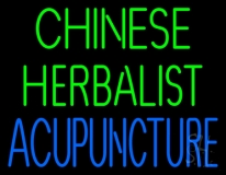 Chinese Herbal Acupuncture LED Neon Sign