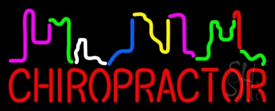 Chiropractor LED Neon Sign