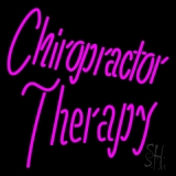 Chiropractor Therapy LED Neon Sign